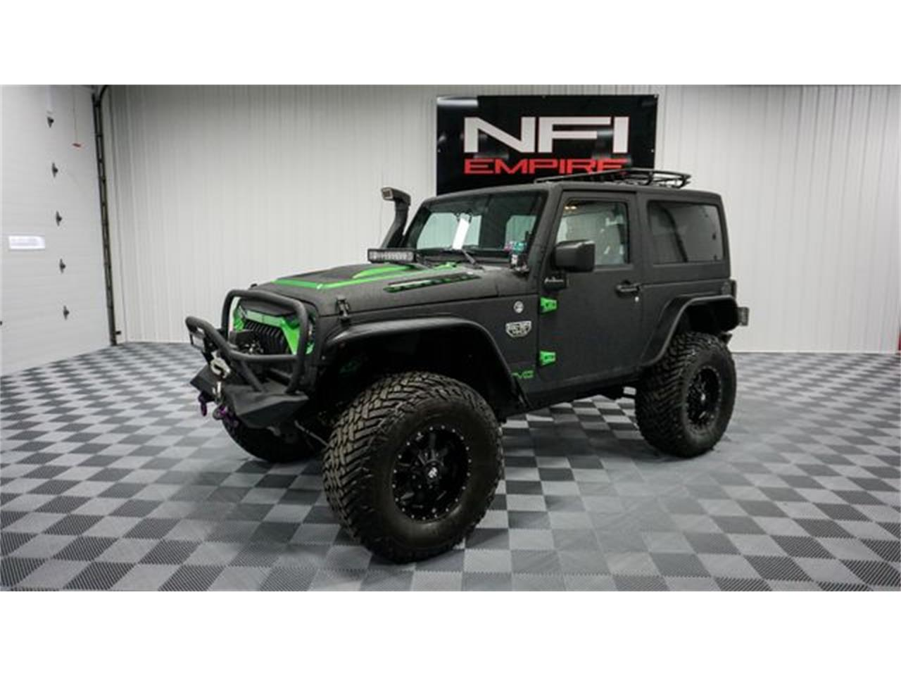 2012 Jeep Wrangler (CC-1437001) for sale in North East, Pennsylvania