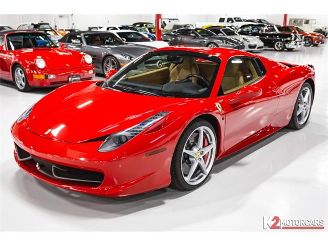 2012 Ferrari 458 (CC-1437025) for sale in Jupiter, Florida