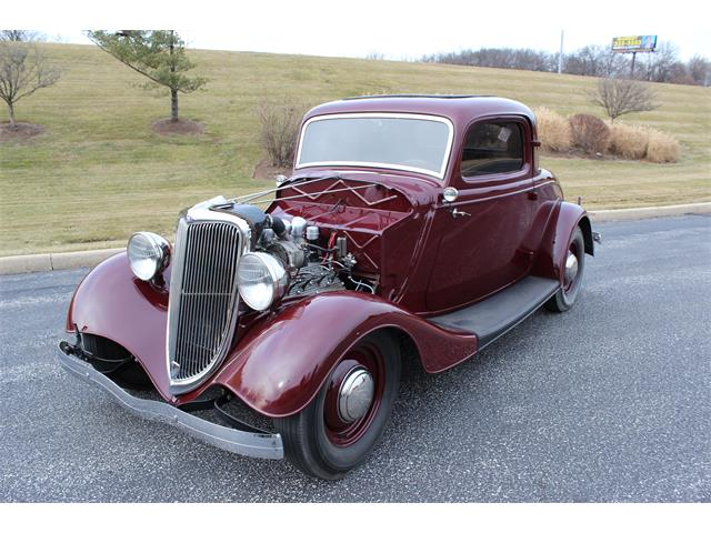 1934 Ford 3-Window Coupe (CC-1437073) for sale in Saint Louis, Missouri