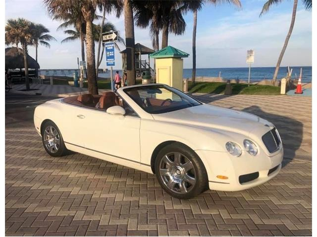 2008 Bentley Continental GTC (CC-1437100) for sale in Lakeland, Florida
