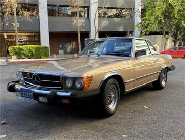 1983 Mercedes-Benz 380SL (CC-1437167) for sale in Glendale, California