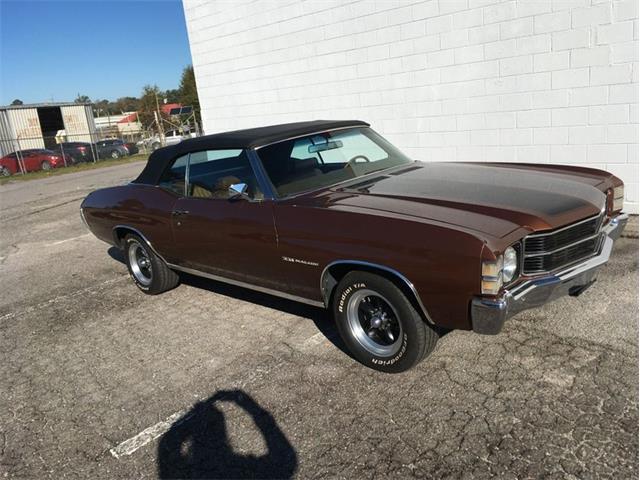 1971 Chevrolet Chevelle (CC-1430720) for sale in Greensboro, North Carolina