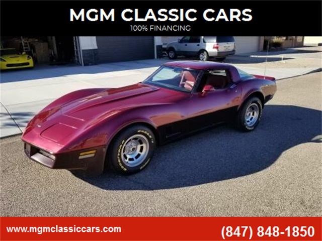 1981 Chevrolet Corvette (CC-1437207) for sale in Addison, Illinois