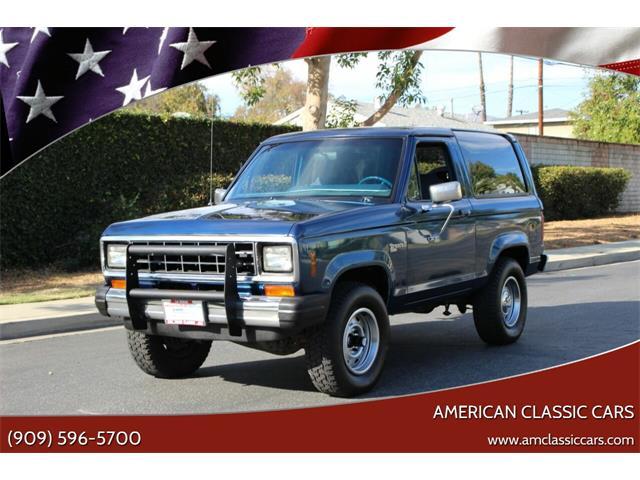 1984 Ford Bronco II (CC-1437241) for sale in La Verne, California