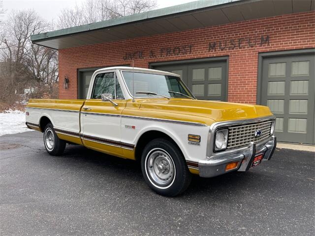 1972 Chevrolet C/K 10 (CC-1437328) for sale in Washington, Michigan