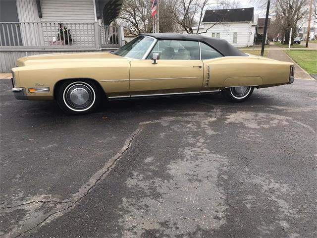 1972 Cadillac Eldorado (CC-1437359) for sale in UTICA, Ohio