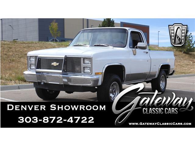 1984 Chevrolet K-10 (CC-1437404) for sale in O'Fallon, Illinois