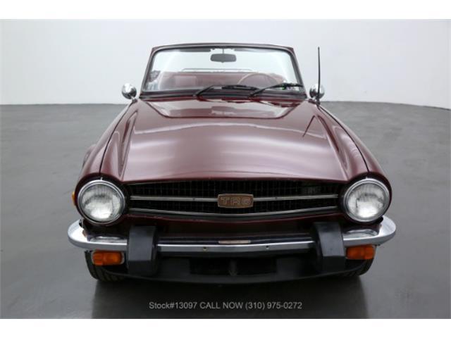 1976 Triumph TR6 (CC-1437418) for sale in Beverly Hills, California