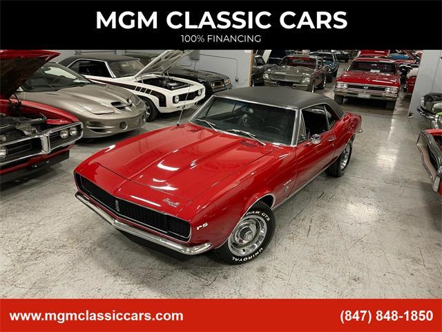 1967 Chevrolet Camaro (CC-1437431) for sale in Addison, Illinois