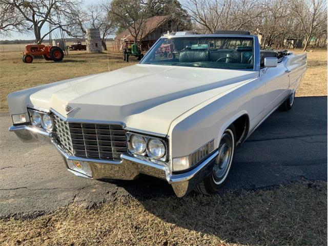 1969 Cadillac DeVille (CC-1437437) for sale in Fredericksburg, Texas