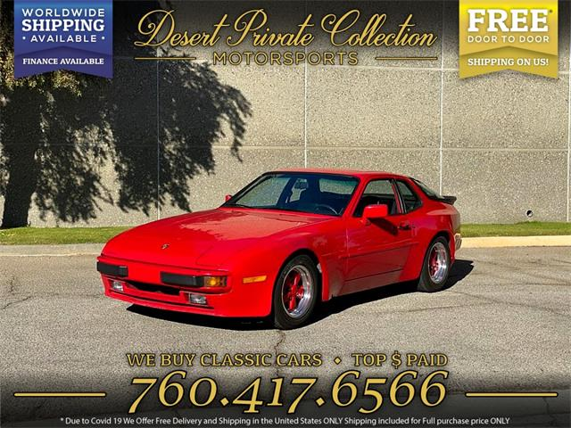1984 Porsche 944 (CC-1437493) for sale in Palm Desert , California