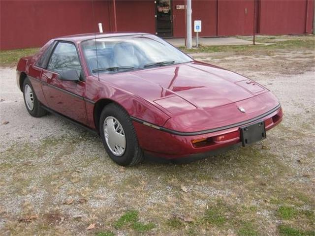 1987 Pontiac Fiero (CC-1437496) for sale in Cadillac, Michigan