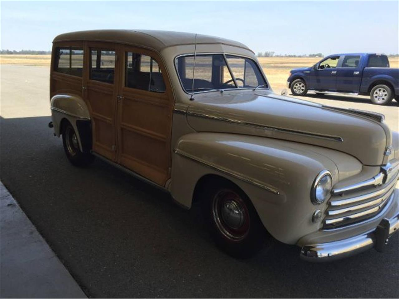 1947 Ford Woody Wagon (CC-1437517) for sale in Cadillac, Michigan