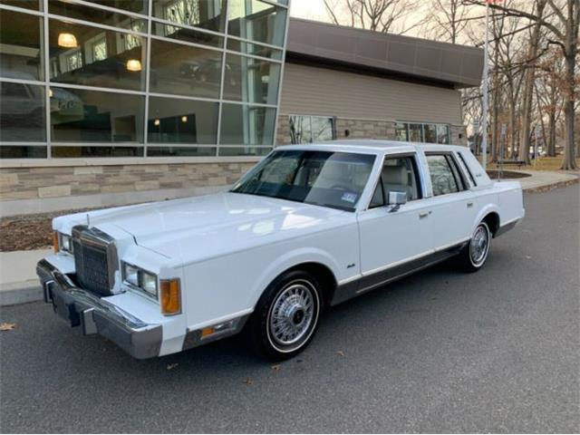 1989 Lincoln Town Car (CC-1437526) for sale in Cadillac, Michigan