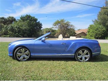 2013 Bentley Continental (CC-1437600) for sale in Delray Beach, Florida