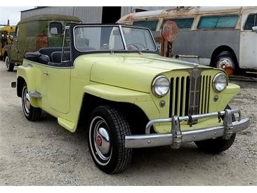 1948 Willys Jeepster (CC-1437601) for sale in Cadillac, Michigan