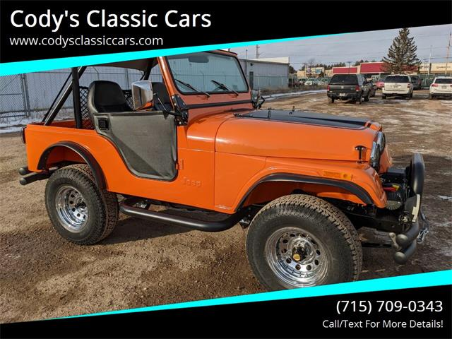 1978 Jeep CJ5 (CC-1437761) for sale in Stanley, Wisconsin