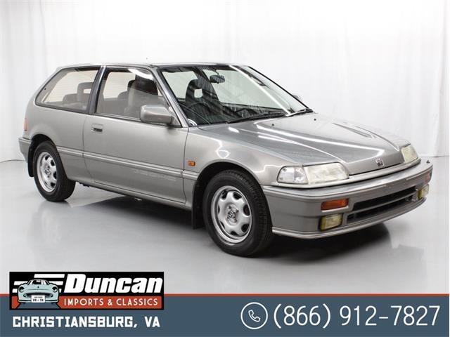 1989 Honda Civic (CC-1430782) for sale in Christiansburg, Virginia