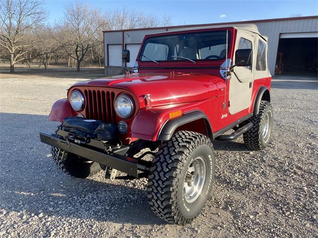 1983 Jeep CJ7 (CC-1437895) for sale in Sherman , Texas