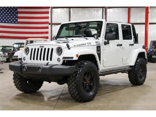 2016 Jeep Wrangler (CC-1437930) for sale in Kentwood, Michigan