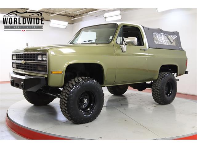 1989 Chevrolet Blazer (CC-1437934) for sale in Denver , Colorado