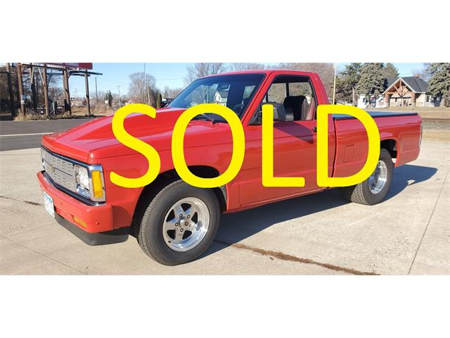 1992 Chevrolet S10 (CC-1438132) for sale in Annandale, Minnesota