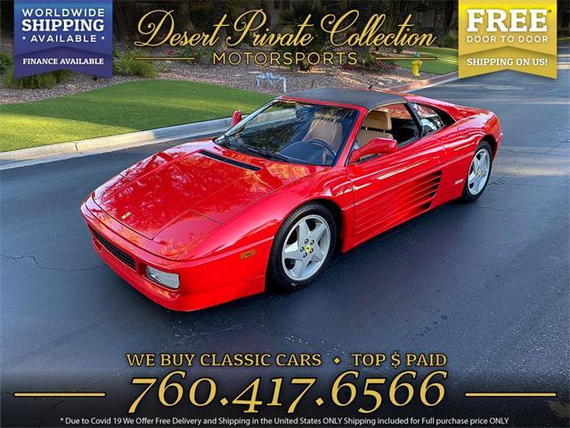 1990 Ferrari 348TS (CC-1438150) for sale in Palm Desert , California
