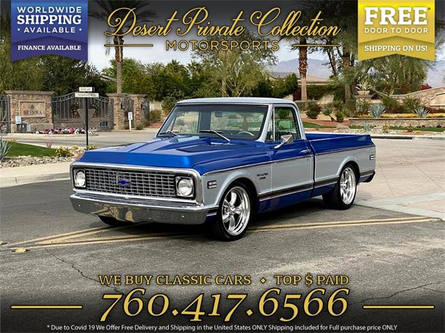 1972 Chevrolet C10 (CC-1438175) for sale in Palm Desert , California