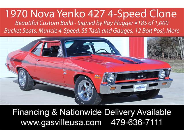 1970 Chevrolet Nova (CC-1438301) for sale in Rogers, Arkansas
