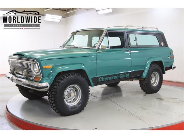 1976 Jeep Cherokee (CC-1438326) for sale in Denver , Colorado