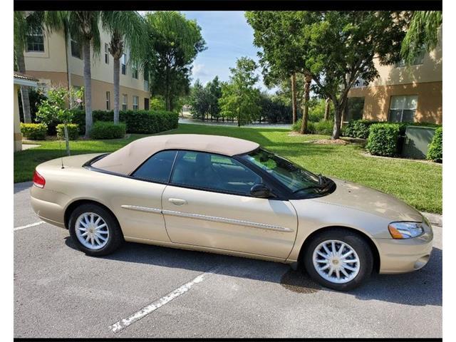 2001 Chrysler Sebring (CC-1438365) for sale in Alsip, Illinois