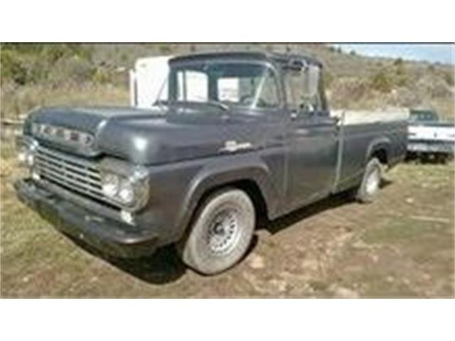 1959 Ford F100 (CC-1438431) for sale in Cadillac, Michigan