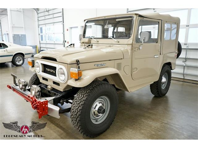 1978 Toyota Land Cruiser FJ (CC-1438499) for sale in Beverly, Massachusetts