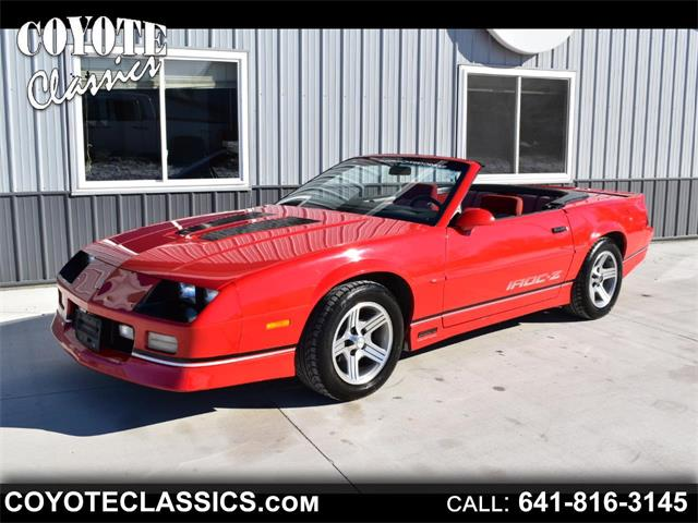 1989 Chevrolet Camaro (CC-1438506) for sale in Greene, Iowa