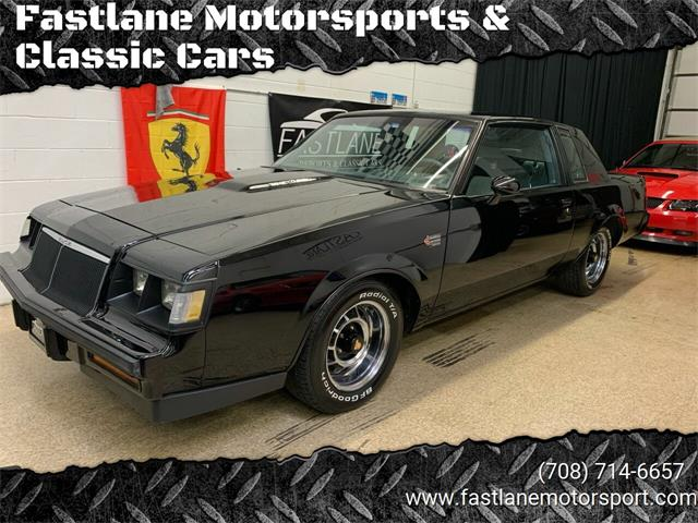 1986 Buick Grand National (CC-1438534) for sale in Addison, Illinois