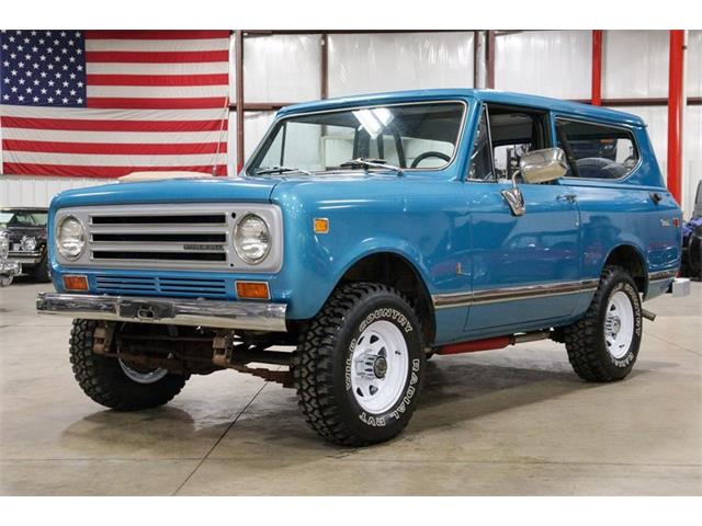 1972 International Scout (CC-1438615) for sale in Kentwood, Michigan