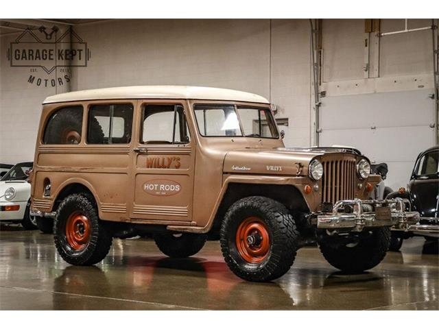 1950 Willys-Overland Wagon (CC-1438664) for sale in Grand Rapids, Michigan