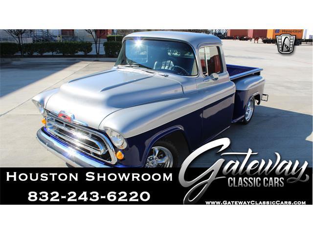 1957 Chevrolet 3100 (CC-1438731) for sale in O'Fallon, Illinois