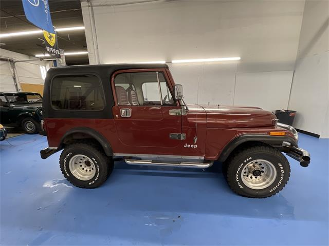 1986 Jeep CJ7 (CC-1438867) for sale in Edina, Minnesota