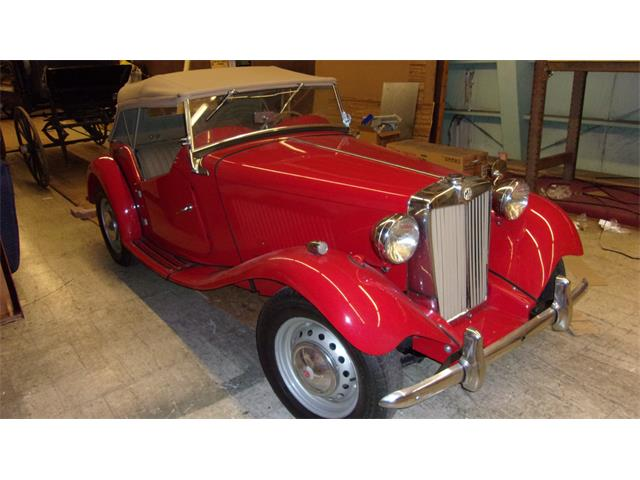 1951 MG TD (CC-1438875) for sale in Quincy, Illinois