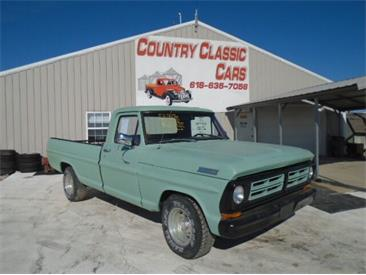 1972 Ford F100 (CC-1438980) for sale in Staunton, Illinois