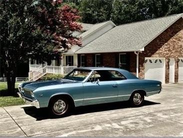 1967 Chevrolet Chevelle (CC-1438982) for sale in Greensboro, North Carolina