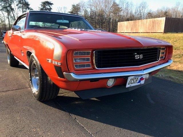 1969 Chevrolet Camaro (CC-1438984) for sale in Greensboro, North Carolina