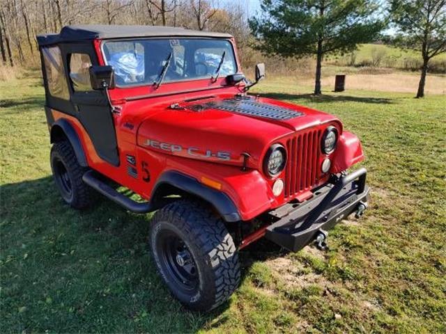 1975 Jeep CJ (CC-1439019) for sale in Cadillac, Michigan