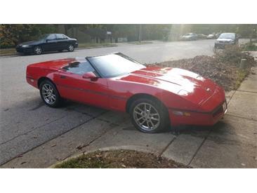 1990 Chevrolet Corvette (CC-1439022) for sale in Cadillac, Michigan