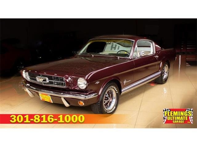 1965 Ford Mustang (CC-1439091) for sale in Rockville, Maryland