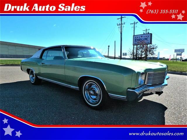 1970 Chevrolet Monte Carlo (CC-1439096) for sale in Ramsey, Minnesota