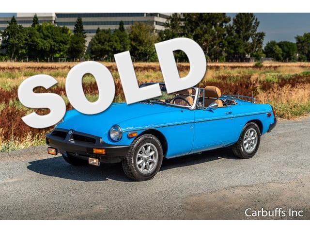 1979 MG MGB (CC-1439128) for sale in Concord, California
