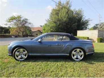 2013 Bentley Continental (CC-1439130) for sale in Delray Beach, Florida