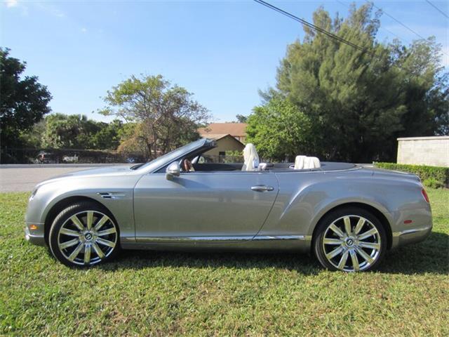 2016 Bentley Continental (CC-1439132) for sale in Delray Beach, Florida